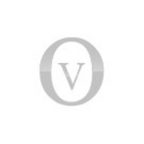 fede infinito Unoaerre in oro rosa con diamanti larga 4mm.